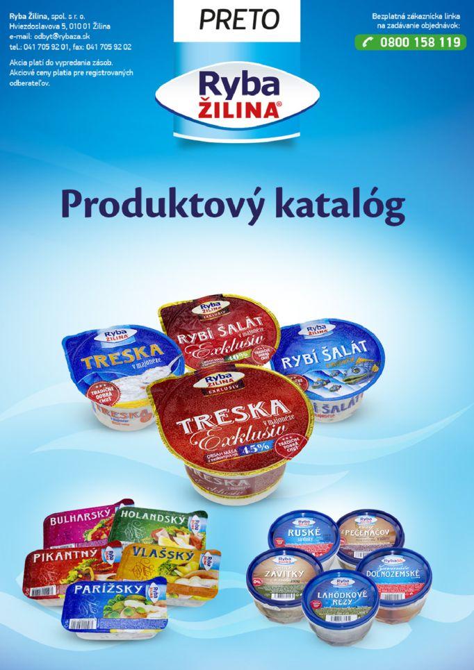 c9059956569a5 Leták RYBA ŽILINA , leták Katalóg výrobkov - eletak.sk